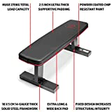 Marcy Deluxe Versatile Flat Bench Workout Utility