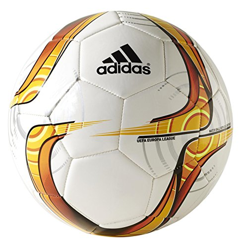 Adidas UEFA Capitano Training Ball Europa League 2015/2016 white-solar gold-solar red - 5