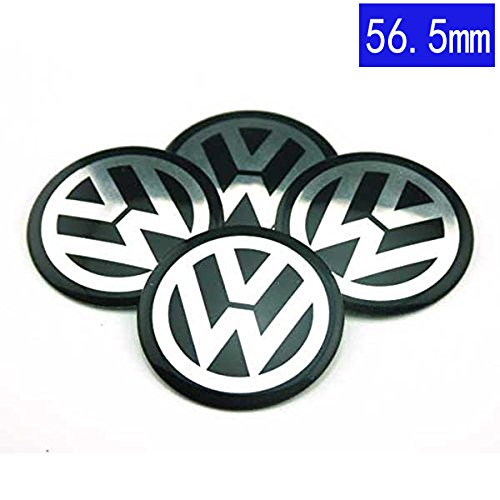 56.5mm VW Wheel CENTER Cover Sticker Car Styling Accessories Emblem Badge Wheel Hub Caps Centre Cover VW Volkswagen B5 B6 MK4 MK5 MK6 Golf Polo PASSAT SAGITAR Jetta CC MAGOTAN Scirocco Eos