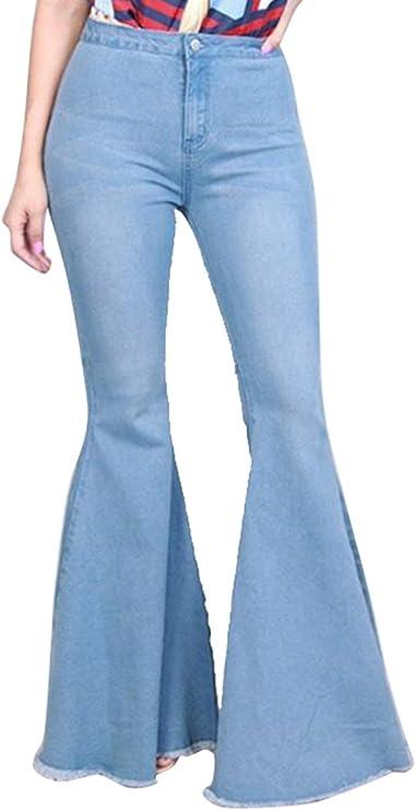 Suncolor8 Mens Casual Mid Waist Ripped Holes Slim Fit Denim Jeans Pants