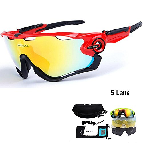 94eeafa39ba Sports sunglasses polarized lens polarized light glasses replacement lens 5  pieces uv400 UV cut bicycle cycling