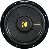 Kicker 40CWD104 CompD Series 10 inch Subwoofer Dual 4 Ohm