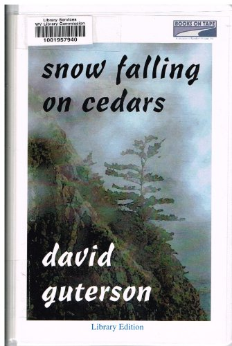 david gutersons snow falling on cedars essay - snow falling on cedars by david guterson snow falling on cedars by david guterson gives readers an idea of what it was like to be japanese in the 1940's and 50's in our nation at that time, much of the population felt that japanese and japanese americans could not be trusted.