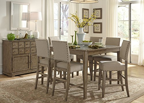 Liberty Furniture 645-GT5454 Weatherford Dining Gathering Table, 54