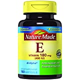 Nature Made Vitamin E 400 IU (dl-Alpha) Softgels 100 Ct