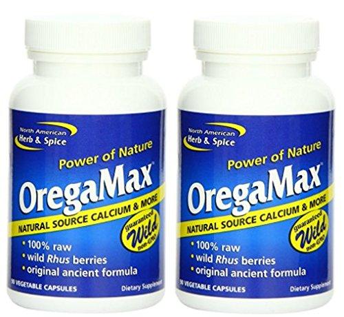 North American Herb & Spice Oregamax, 90 Vegi-Caps (180 Vegi-Caps)