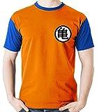 Camiseta Uniforme Goku Mestre Kame Dragon Ball Camisa Blusa M2