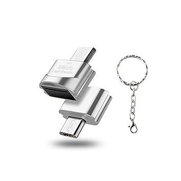 Mcbbigxw Micro USB 2.0 OTG Celular Micro SD/TF Adaptador ...