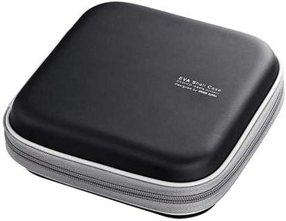 Caja de almacenamiento de CD Caja CD CD Storage Box Office Organizador de escritorio tiene capacidad