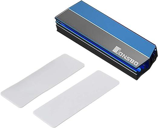 siwetg - disipador de Calor de aleación de Aluminio M.2 SSD ...
