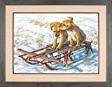 Dimensions Needlecrafts Counted Cross Stitch, Sled Dogs