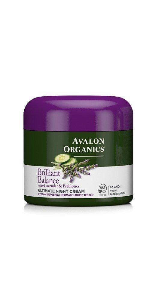 Avalon Organics Brilliant Balance Ultimate Cruelty-Free Night Cream