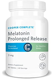 Cooper Complete - Prolonged Release Melatonin - Time Release Tablet, Sleep Supplement - 60 Day