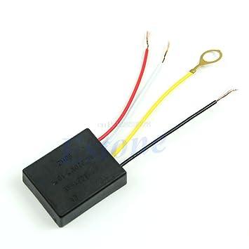Amazon.com: Interruptor táctil de lámpara UTP de 220 V, 1 A ...