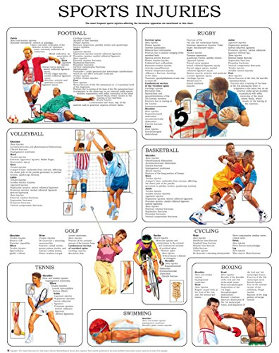 Sport injuries I - Quick Reference Chart: Full illustrated (Touch For Health Reference Chart)