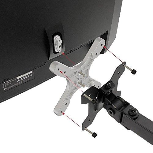 VIOTEK VESA Mount Adapter – Conversion Plate for 75mm & 100mm, Easy Installation, for NB27C,NB32C,GN27C,GN32C,and GN34C, Screws Included by Viotek