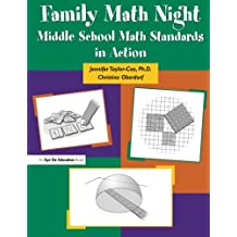 Family Math Night: Middle School Math Standards in Action