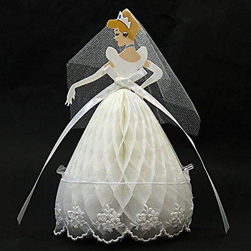 (Disney Princess Cinderella Honeycomb w/Lace Pop Up Greeting Card)