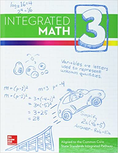 Amazon com: Integrated Math, Course 3, Student Edition