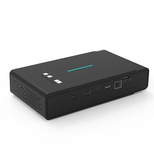 TOUMEI V5 3800 lúmenes Mini portátil 3D 4K Full HD 16G RAM ...