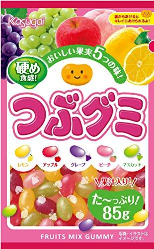 Kasugai grain gummy 85gX6 bags