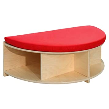 Phenomenal Amazon Com Wood Designs Read A Round Half Circle Bench Ncnpc Chair Design For Home Ncnpcorg