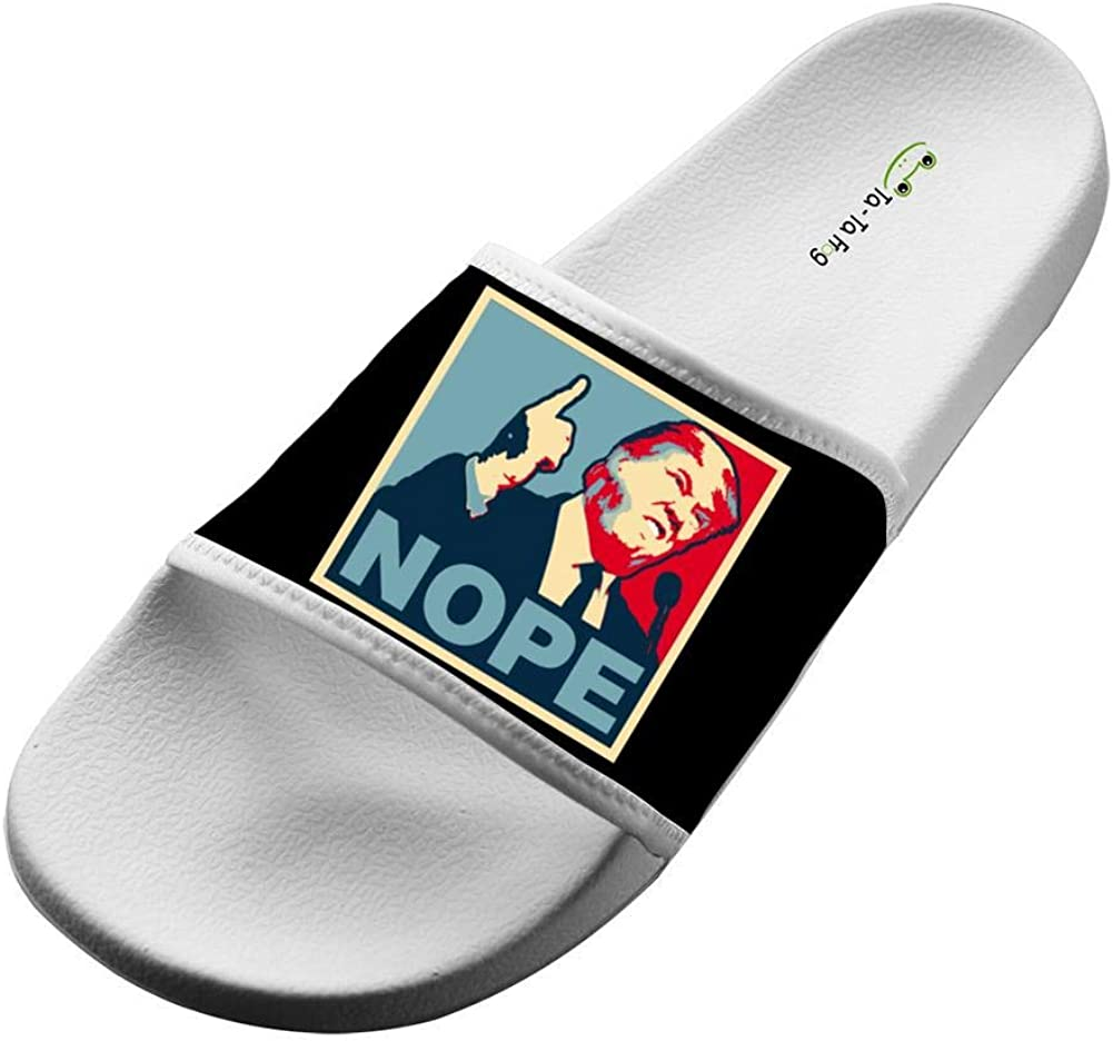 Nope,Fashion Funny Slippers Sandals For Everyone