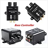 FidgetGear Car RCA Remote Level Amplifier Subwoofer Equalizer Crossover Bass Controller Kit