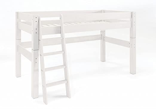Hochbett Leiter Schräg : Beste hochbett mit betten sanders etagenbett kinderbett leiter
