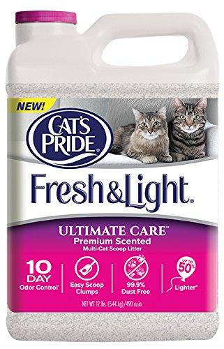 Cat's Pride Fresh and Light Ultimate Care Premium Scented Multi-Cat Scoop Litter