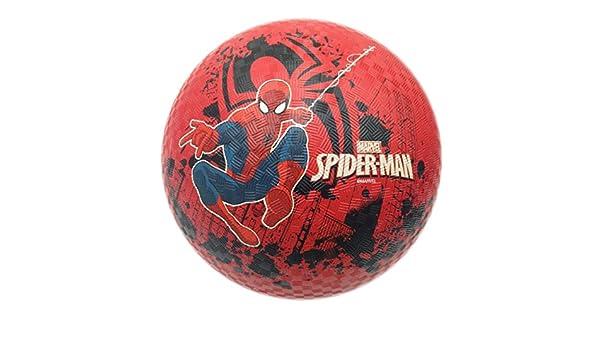 Marvel Pelota de Playa Spider-Man, 21,5 cm, Rojo/Negro/Azul ...