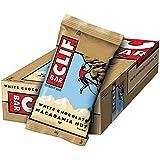 Clif Bar Barrita Energética de Avena y Chocolate Blanco con Nueces de Macadamia - 12 Barritas