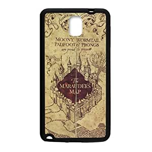 Happy The Marauders Map Cell Phone Case for Samsung Galaxy Note3