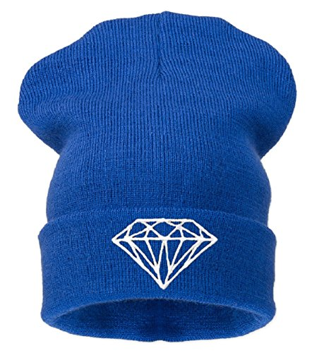 Men Beanie Universal Black Diamond 4sold Blue Size 1a0qw4