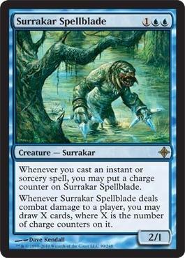 (Magic: the Gathering - Surrakar Spellblade - Rise of the Eldrazi - Foil)