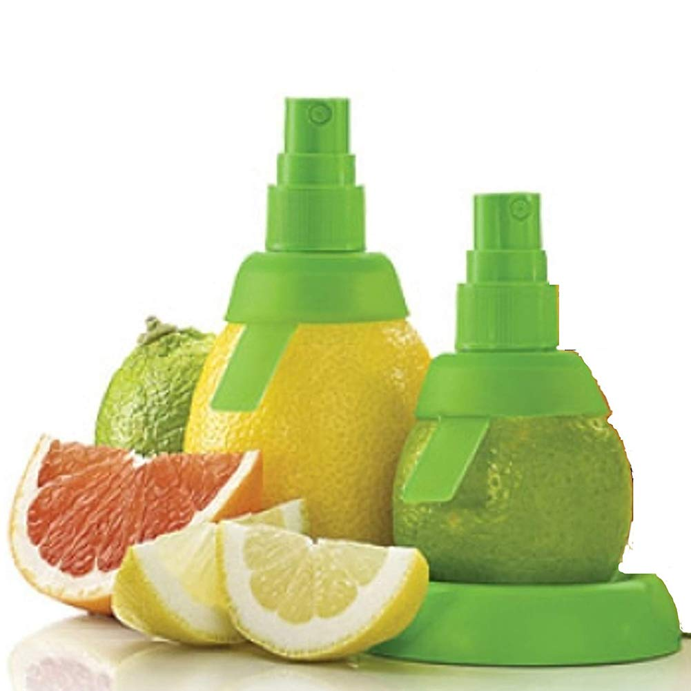 Outtybrave - Exprimidor manual creativo de limón cítrico para zumo de frutas (2 piezas): Amazon.es: Hogar