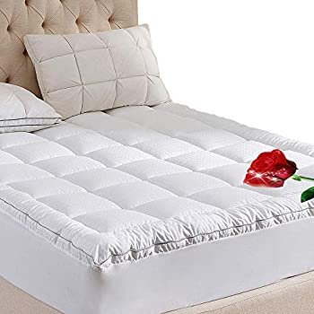 Amazon Com Balichun Fitted Quilted Mattress Pad Cover 8