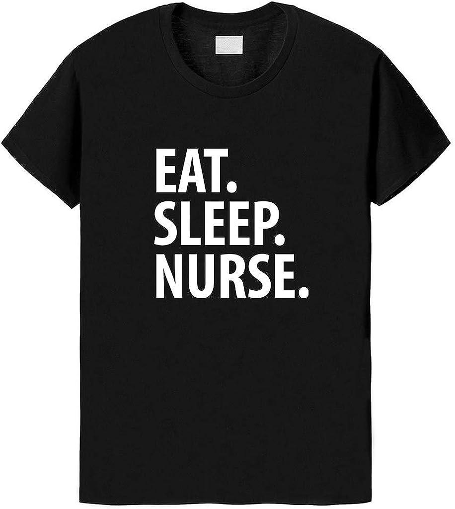 Fellow Friends Eat Sleep Nurse Unisex T-Shirt