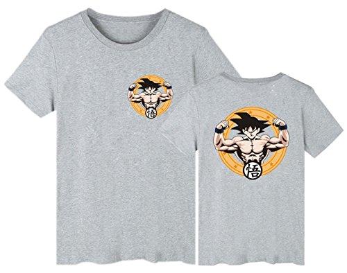 Unisex Goku Cotton Ball Summer 505 Vegeta Anime Saiyan Beerus T Maglietta 2018 Dragon Z Cosplay Grigio Serafhy shirt Super zVLqUMGSp