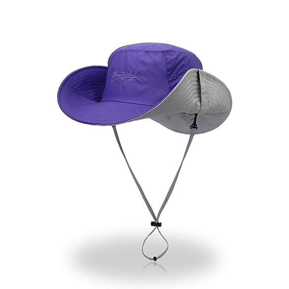 Gorra, Sombrero De Pescadores Anti-UV No Viewer Aire Libre Playa ...