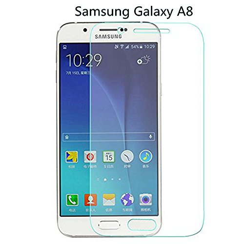 Tempered Glass for Samsung Galaxy A8 (Clear) - 6