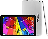 iNOVA Quad Core 10.1'' Tablet PC - Android 4.4 KitKat, 8GB ROM, 1.2 GHz Processor, Bluetooth 4.0, Dual Camera, Wi-Fi (Silver)