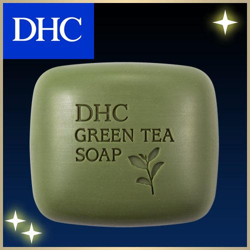 DHC Medicated Lip Cream 1.5 G+green Soap 60g +Soap Net Deals Set Genuine Made in Japan