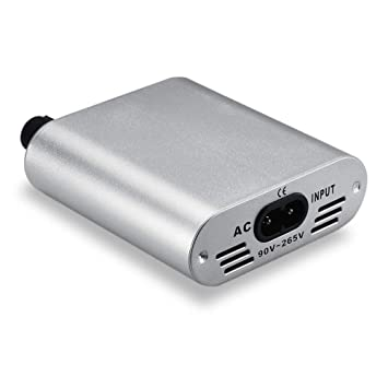 Professional Silvery Power Supply Power Pack Plastic Mini Power Supply Accessory Portable