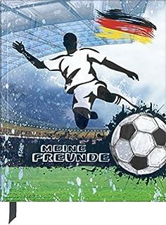 Meine Freunde Buch Fussball Champion für Jungen dick gebunden für Schulfreun