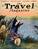 1909 Cover Travel Magazine Native Americans Indians Costume Drum Bow and Arrow - Original Cover