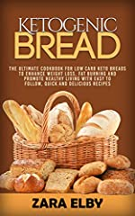FREE KINDLE E-BOOK WITH EVERY PAPERBACK PURCHASEDo you follow a ketogenic diet but still miss bread and other carby treats? If so, Ketogenic Bread: The Ultimate Cookbook for Low Carb Keto Breads to Enhance Weight Loss, Fat Burning and Promote...
