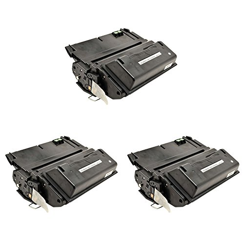 greencycle 3 PK Compatible Q5942X 42X Black Toner Cartridges For HP LaserJet 4250 4350 4350tn