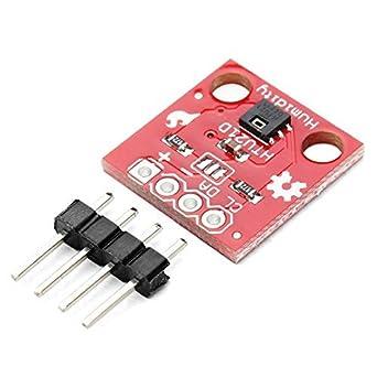 HiLetgo® HTU21D Temperature Humidity Sensor Breakout Module I2C IIC  1 5V-3 6V Replace SHT15 Compatible to SHT20 SHT21