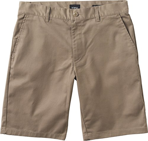 RVCA Men's Week-End Stretch Short, Dark Khaki, 36 (Shorts Stretch Khaki)